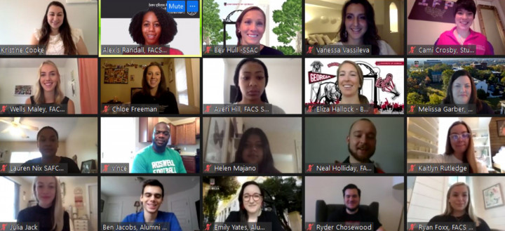 Photo for FACS virtual leadership retreat a success with over 90 participants